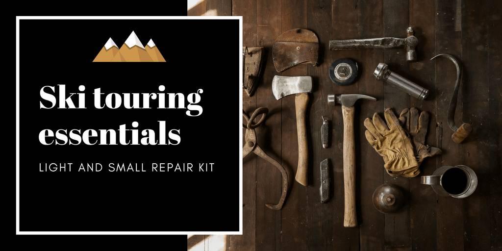 Ski Touring Repair Kit Essentials