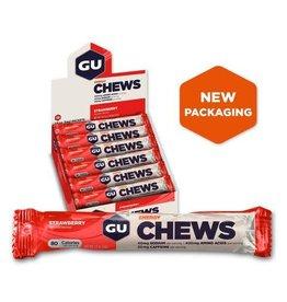 GU GU Double Serve Energy Chews -Strawberry