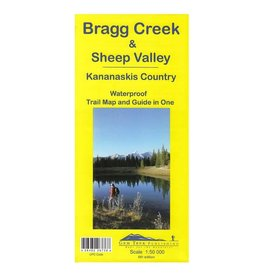 Bragg Creek and Sheep Valley Map