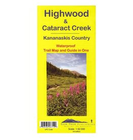 Highwood & Cataract Creek Map