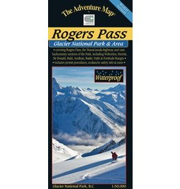 Rogers Pass Winter Map
