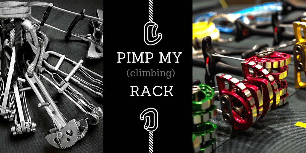 Pimp my [climbing] Rack - How little tweaks can save you a lot of weight
