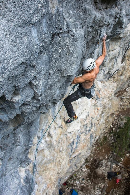canmore climbing acephale crag nemo