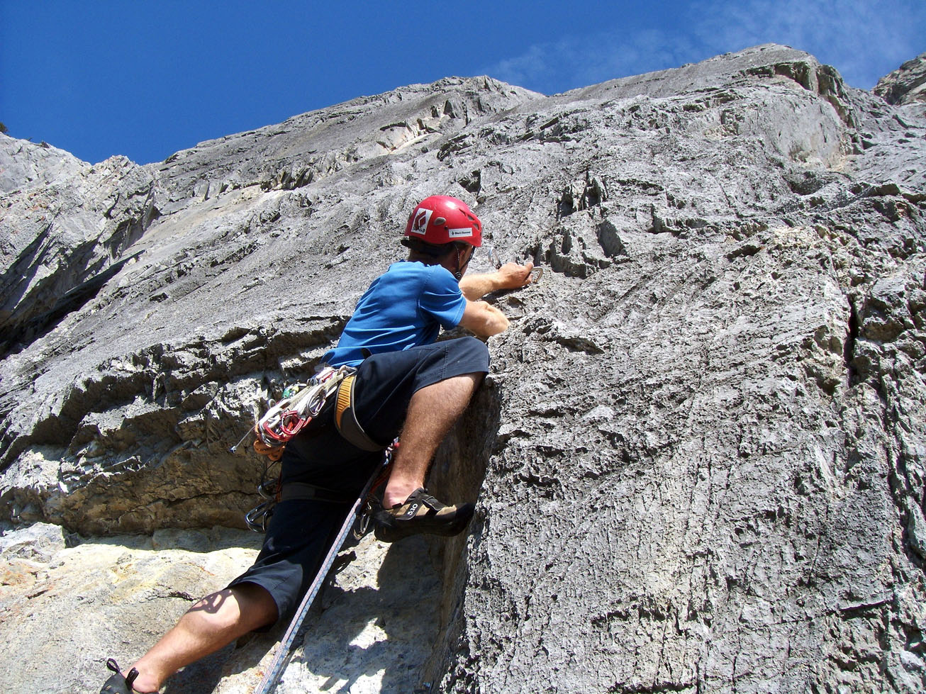 canmore climbing true grit