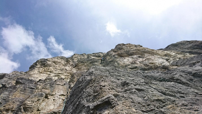 Pitch 3 Khal Wall, Yamnuska