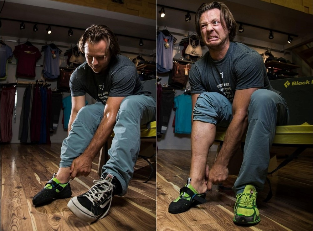Fitting your climbing shoe properly