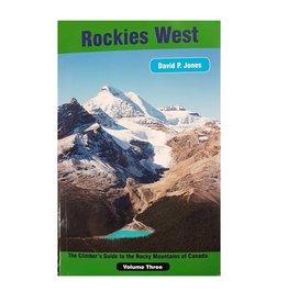 David P. Jones Rockies West Climbing Guide - Volume 3