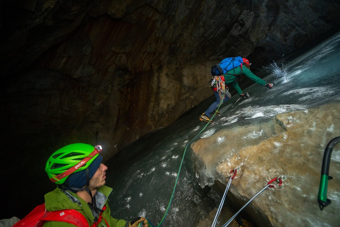 Booming Ice Chasm First Pitch