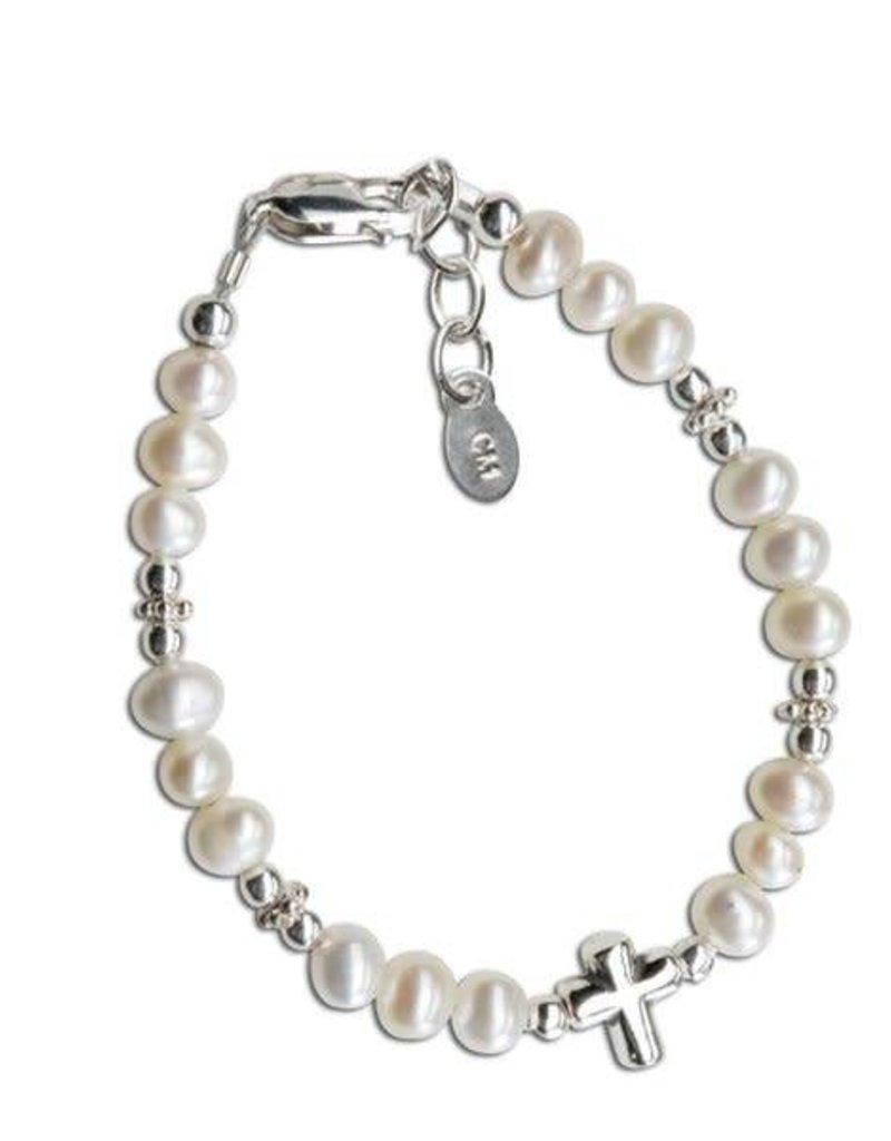 Emily - Sterling Silver Bracelet - Infant 0-12 months