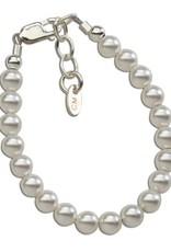 Serenity - Sterling Silver Bracelet for Infant 0-12 months