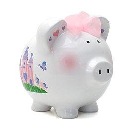 Princess Castle Piggy Bank