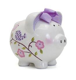 Paper Bird Pig Piggy Bank