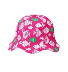 Sunhat Pink with Fish