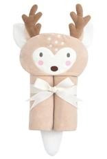Elegant Baby Reindeer Bath Wrap