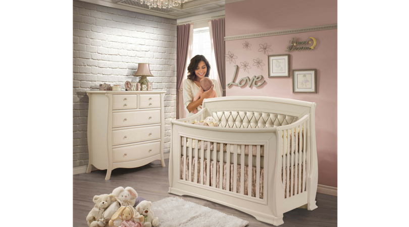 Clic Beautiful Italian Nursery Furniture Collection