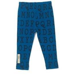 L'ovedbaby Blue ABC Organic Legging