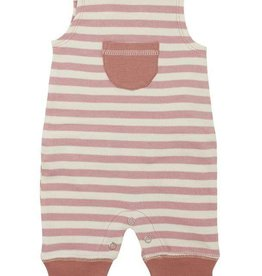 L'ovedbaby Harem Romper, muave, infant