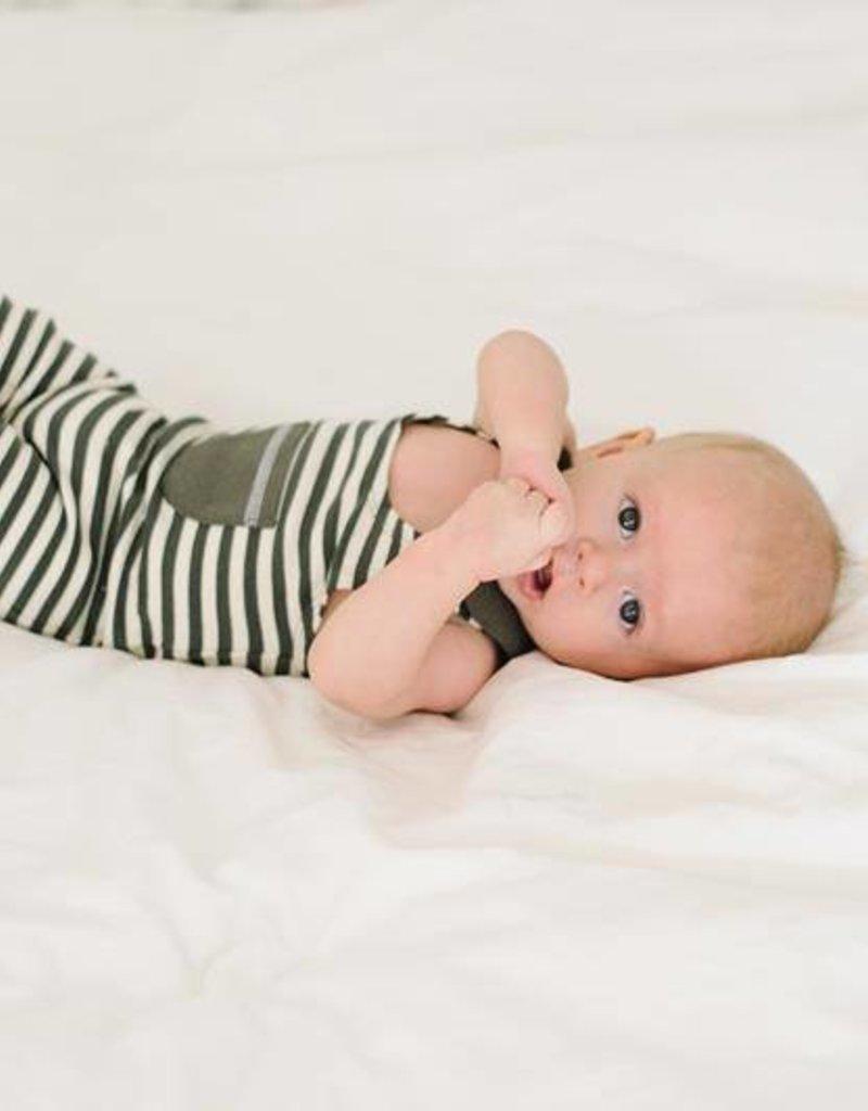 L'ovedbaby Harem Romper, Grey, Infant