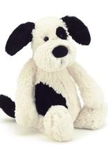 Jellycat Bashful Black & Cream Puppy- Small