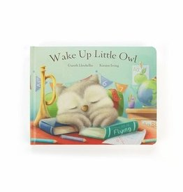 Jellycat Wake Up Little Owl Book