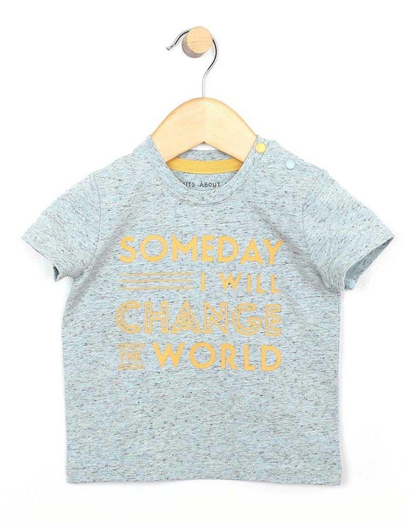 Robeez Shirt- Change the World