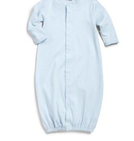 Kissy Baby Blue Footie Convertible Sack