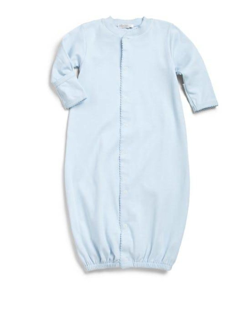 Kissy Baby Blue Footie Convertible Sack Hello Baby