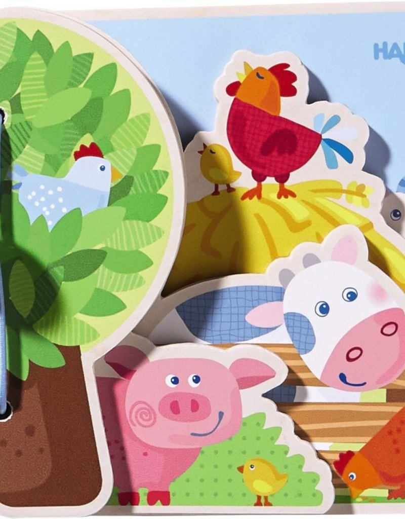 Haba Baby Book Farm Friends