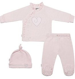 Kushies Classics Take Me Home: Girl 3 Piece Heart Set