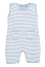 Elegant Baby Shortall Blue Romper