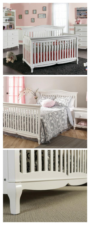white baby nursery furniture