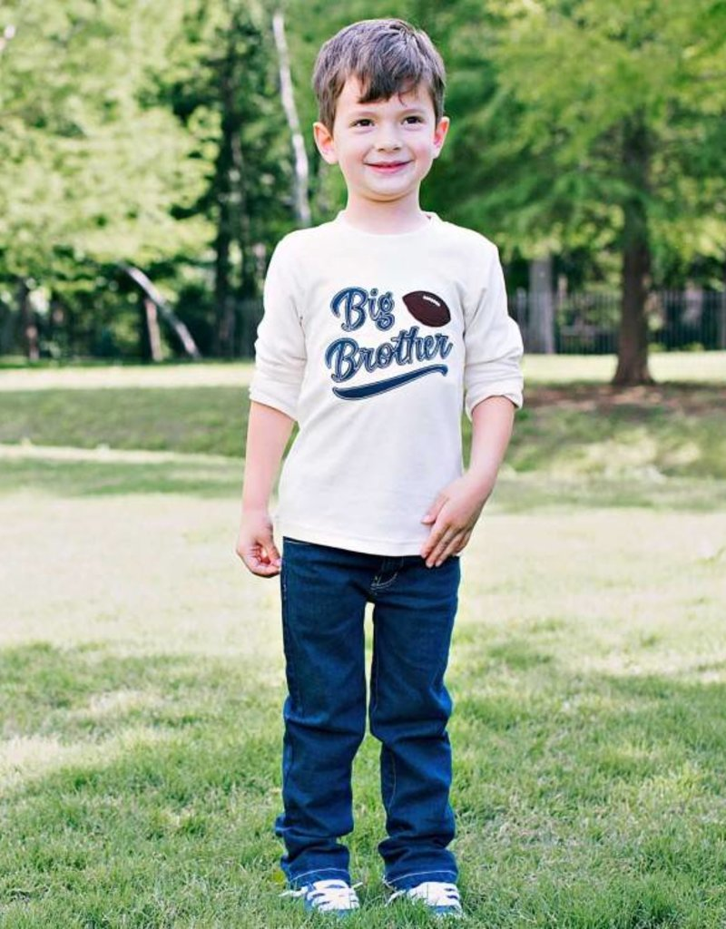 RuffleButts/RuggedButts Big Brother Football Long Sleeve