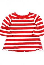 RuffleButts/RuggedButts Red Stripe Belle Top