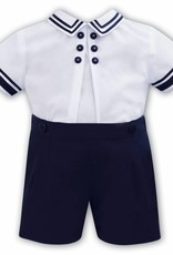 Sarah Louise Navy and White Sailor Outfit