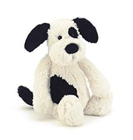 Jellycat Jellycat-Bashful Black & Cream Puppy Large