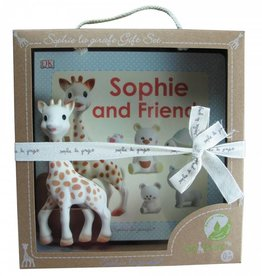 Sophie La Giraffe Sophie la girafe & Sophie and friends book - Gift Set