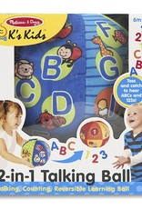 Melissa and Doug 2 in 1 Talking Ball