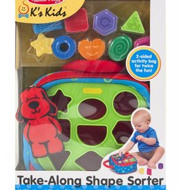 Melissa and Doug Take-Along Shape Sorter