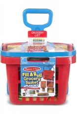 Melissa and Doug Rolling Grocery Basket