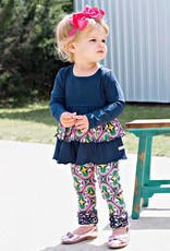 RuffleButts Day at the Park Everyday Ruffle Leggings