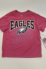 Girls Pink Eagles Tee