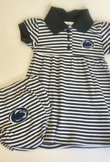 Penn State Striped Dress w/ Bloomer