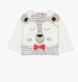 Boboli Knit Bear Shirt