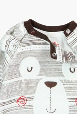Boboli Velour play suit for baby