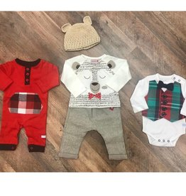 Ultimate Holiday Bundle Baby Boy 0-3m, 3-6m, 6-12m