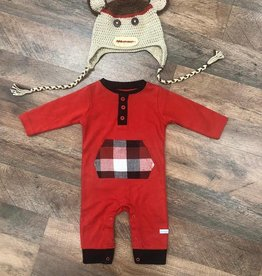 Baby Boy Holiday PJ and Hat Set