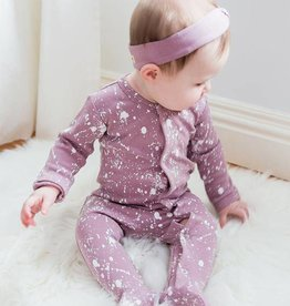Lovedbaby Paint Splatter footie