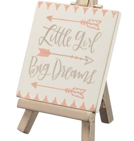Primitives Mini Easel- Little Girl