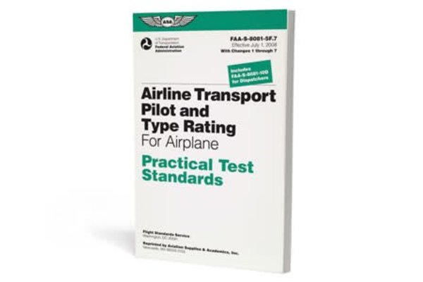 ASA PTS - Airline Transport Pilot for Airplane