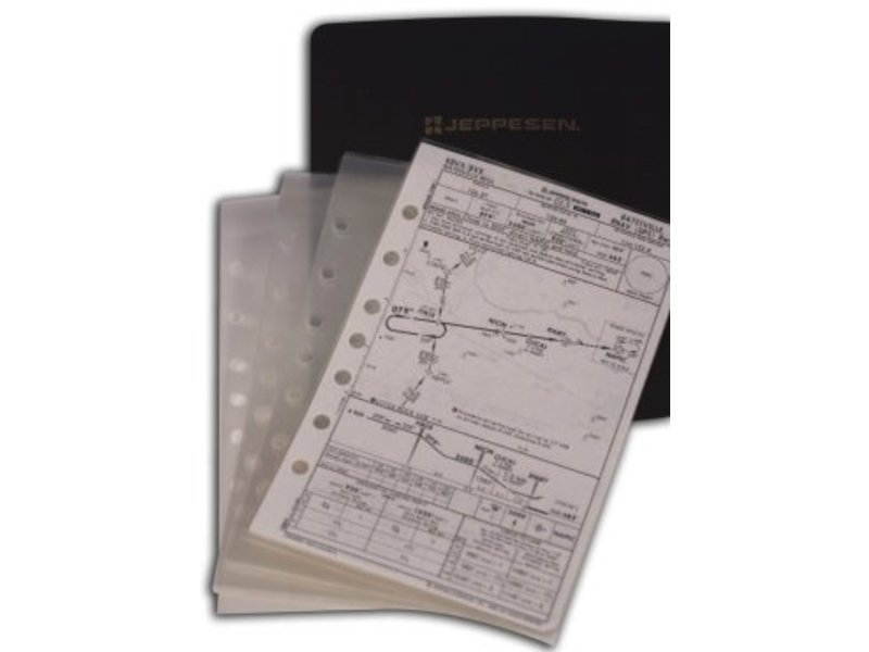 Jeppesen Sanderson Approach Chart Protector (Set of 10)